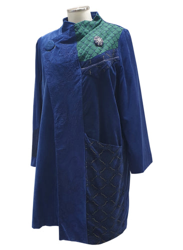Cappotto DESIGN Dec Blu
