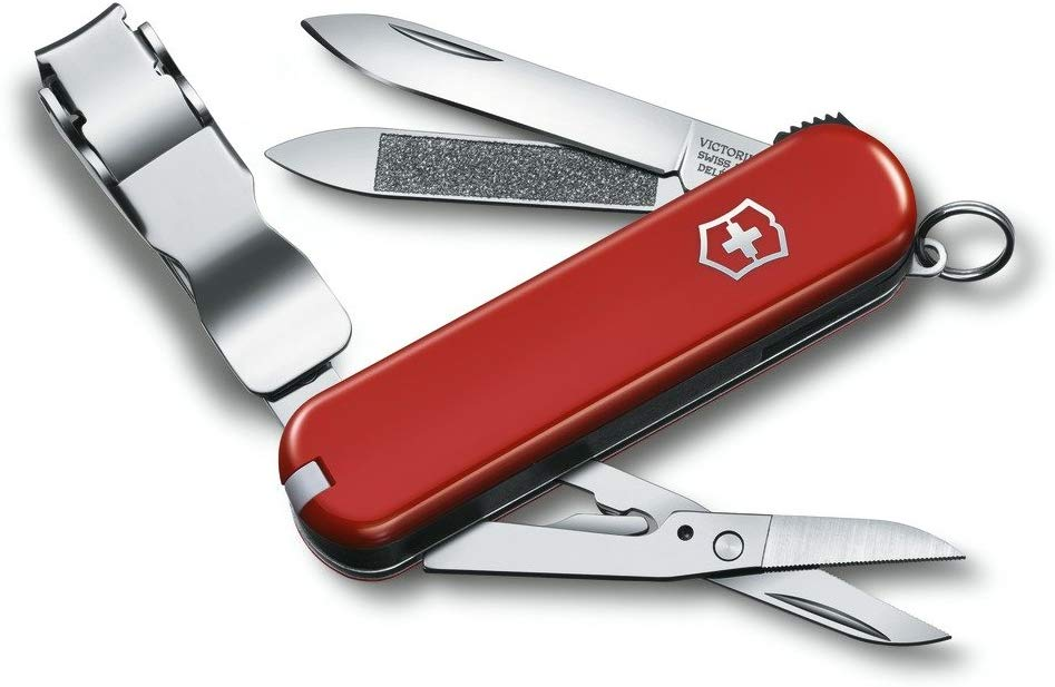 Victorinox Swiss Army Nail Clip 580 Swiss Army Knife - Red