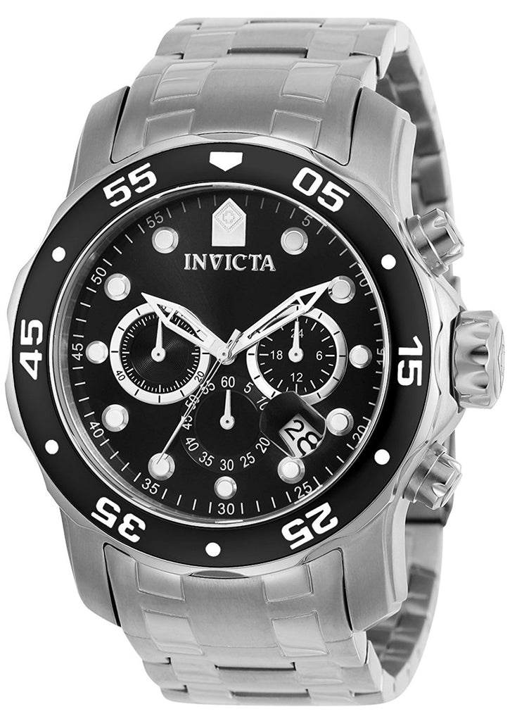 Invicta Stainless Steel Chronograph Mens Watch 0069
