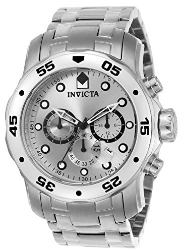 Invicta Pro Diver Collection Chronograph Stainless Steel Mens Watch