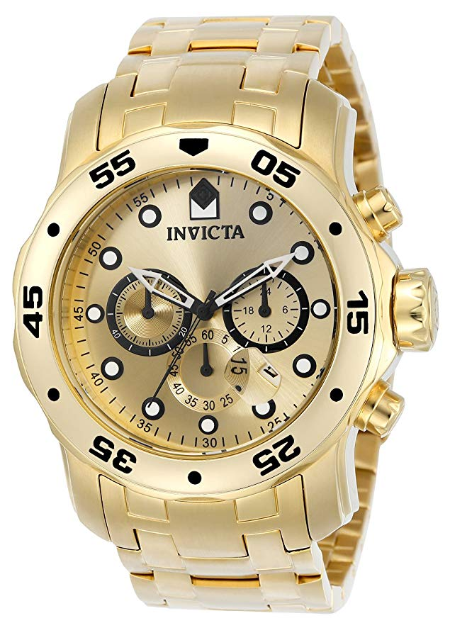 Invicta Scuba Pro Diver Chronograph Mens Watch