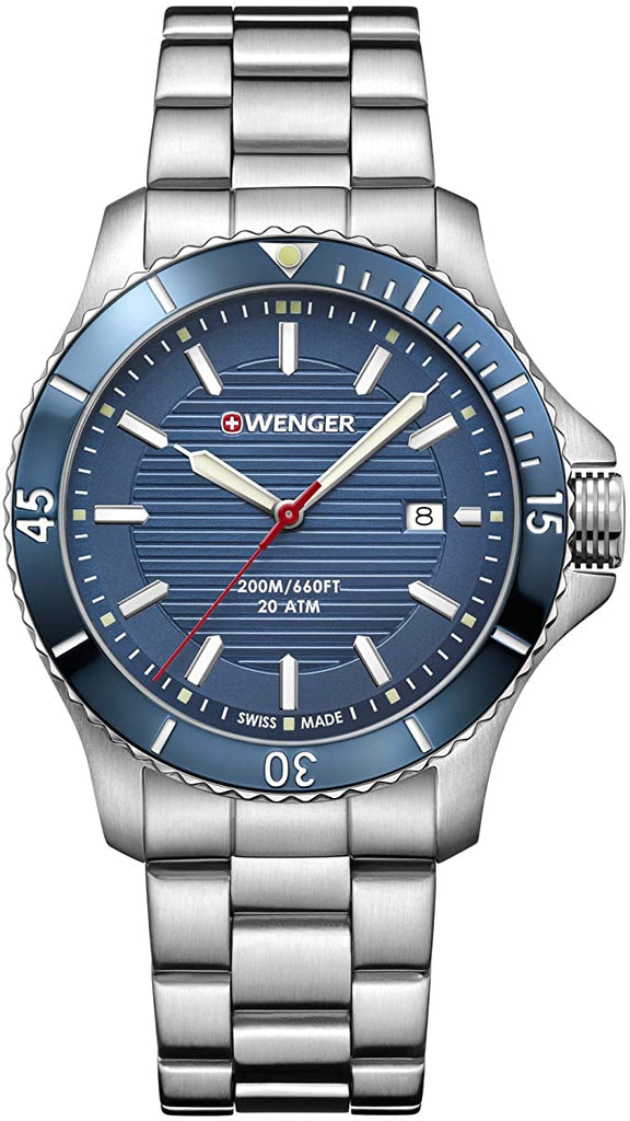 Wenger Seaforce Stainless Steel Mens Watch