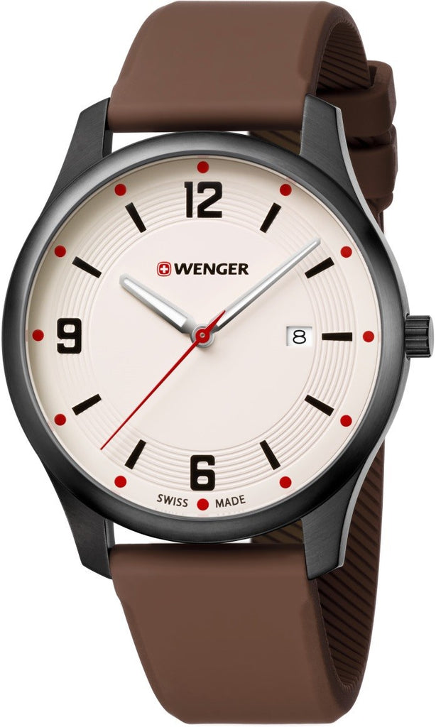 Wenger City Active Leather Mens Watch