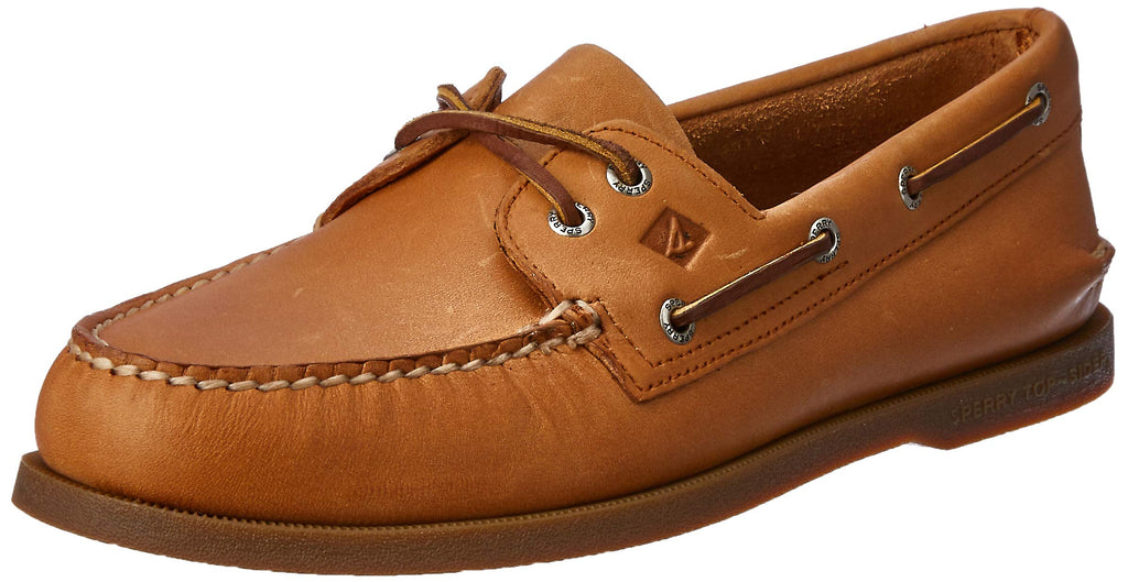 Sperry Mens A/O 2 Eye Boat Shoe - Sahara - 9