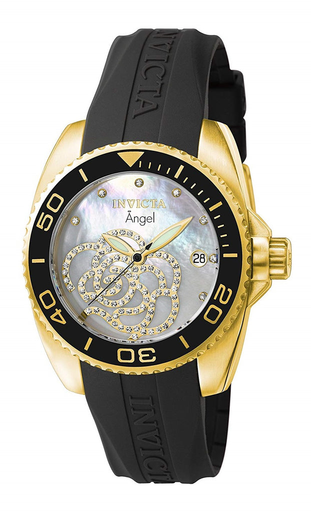 Invicta Angel Polyurethane Ladies Watch