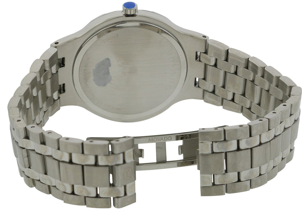 Movado Metio Stainless Steel Mens Watch