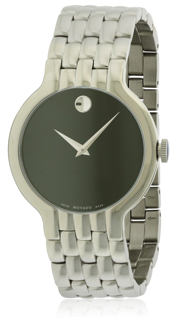 Movado Classic Stainless Steel Mens Watch
