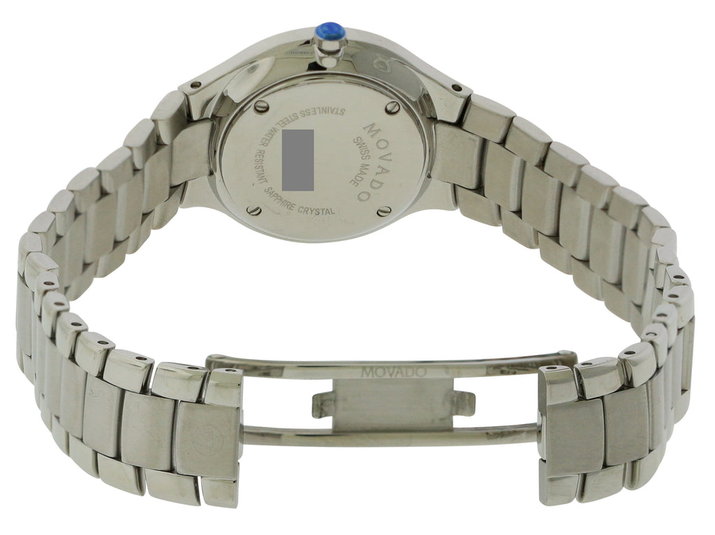 Movado Serio Stainless Steel Ladies Watch
