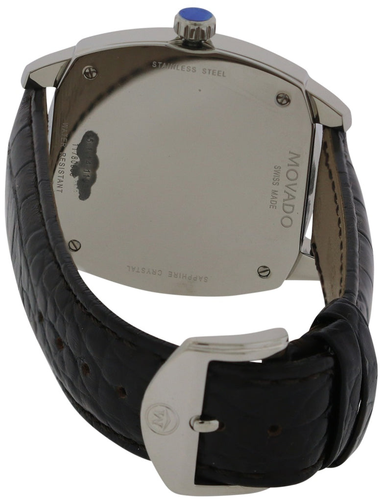 Movado Circa Leather Mens Watch