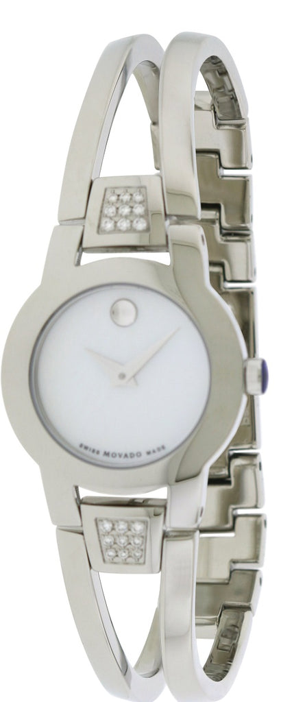 Movado Amorosa Stainless Steel Ladies Watch