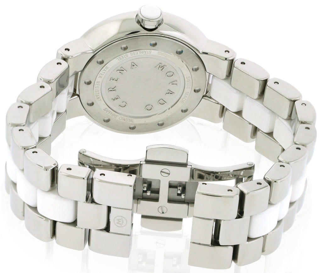 Movado Cerena Stainless Steel Diamond Ladies Watch
