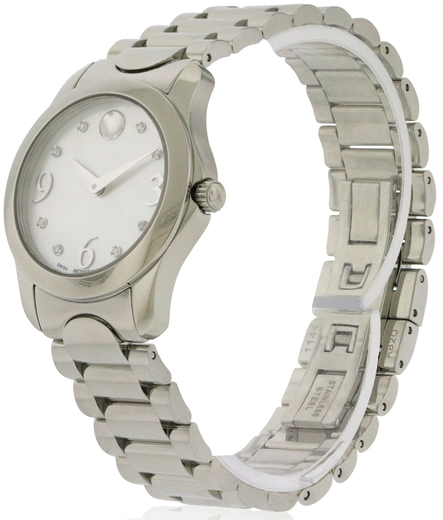 Movado Moda Stainless Steel Ladies Watch
