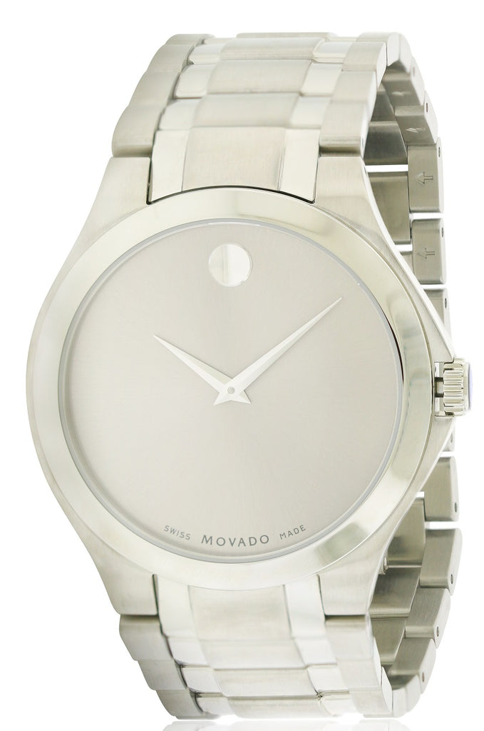 Movado Collection Stainless Steel Mens Watch