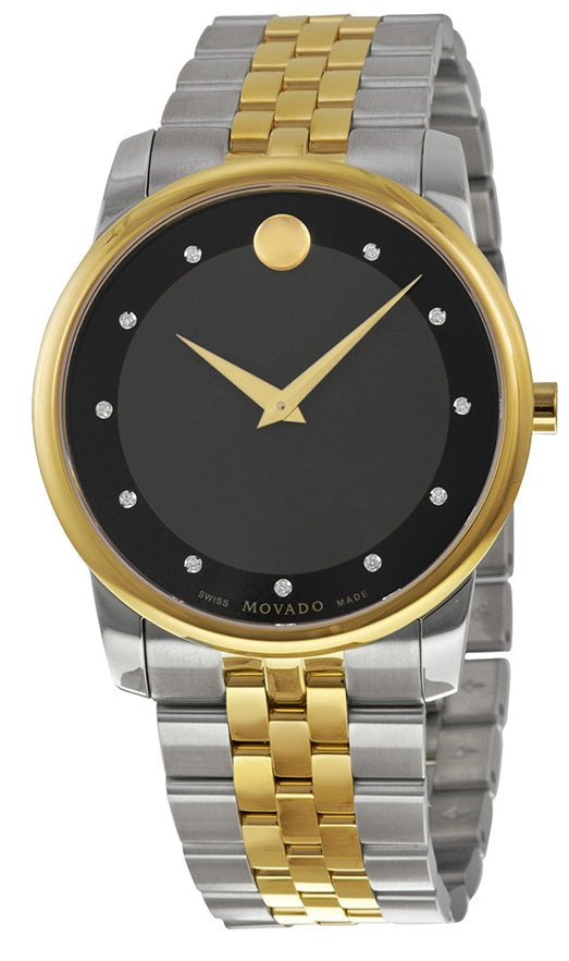 Movado Museum Two-Tone Mens Watch