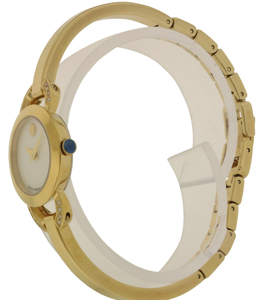 Movado Rondiro Gold-Tone Ladies Watch
