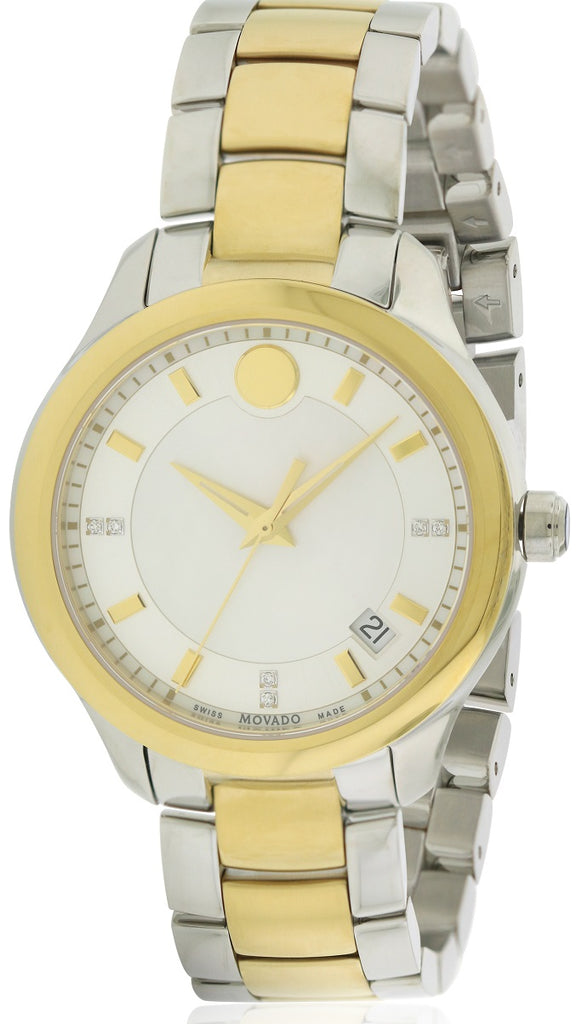 Movado Bellina Two-Tone Stainless Steel Ladies Watch