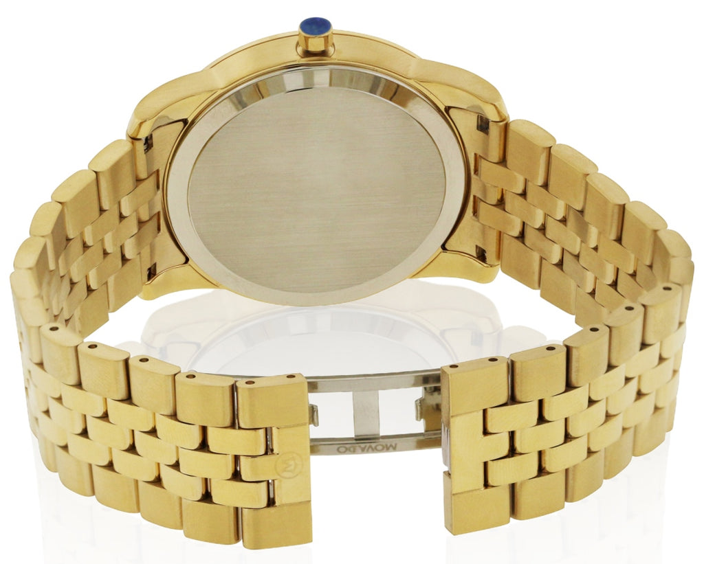 Movado Museum Classic Gold-Tone Mens Watch
