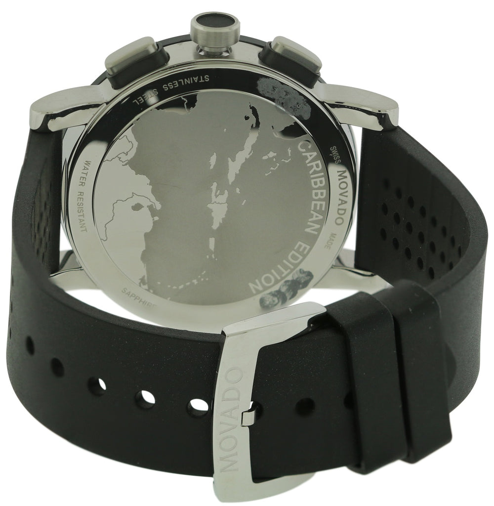 Movado Museum Chronograph Rubber Mens Watch