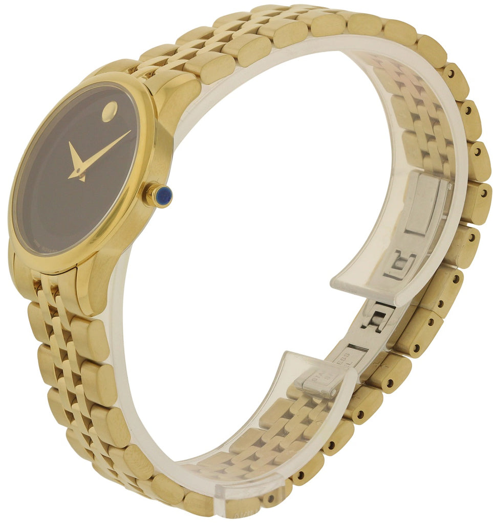 Movado Museum Gold-Tone Ladies Watch