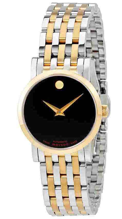 Movado Red Label Two-Tone Automatic Ladies Watch