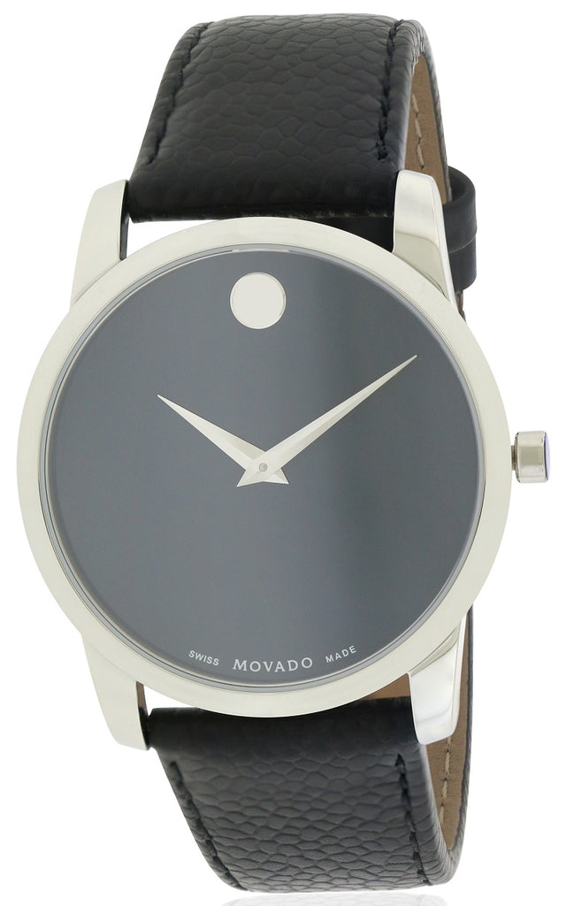 Movado Museum  Leather Mens Watch