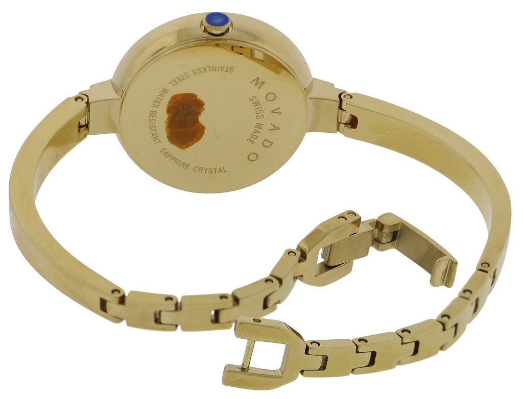 Movado Bela Gold-Tone Stainless Steel Ladies Watch