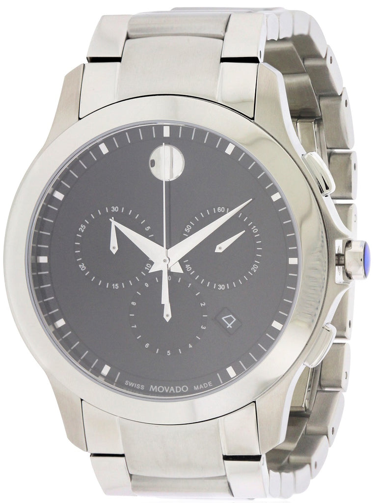 Movado Masino stainless Steel Chronograph Mens Watch