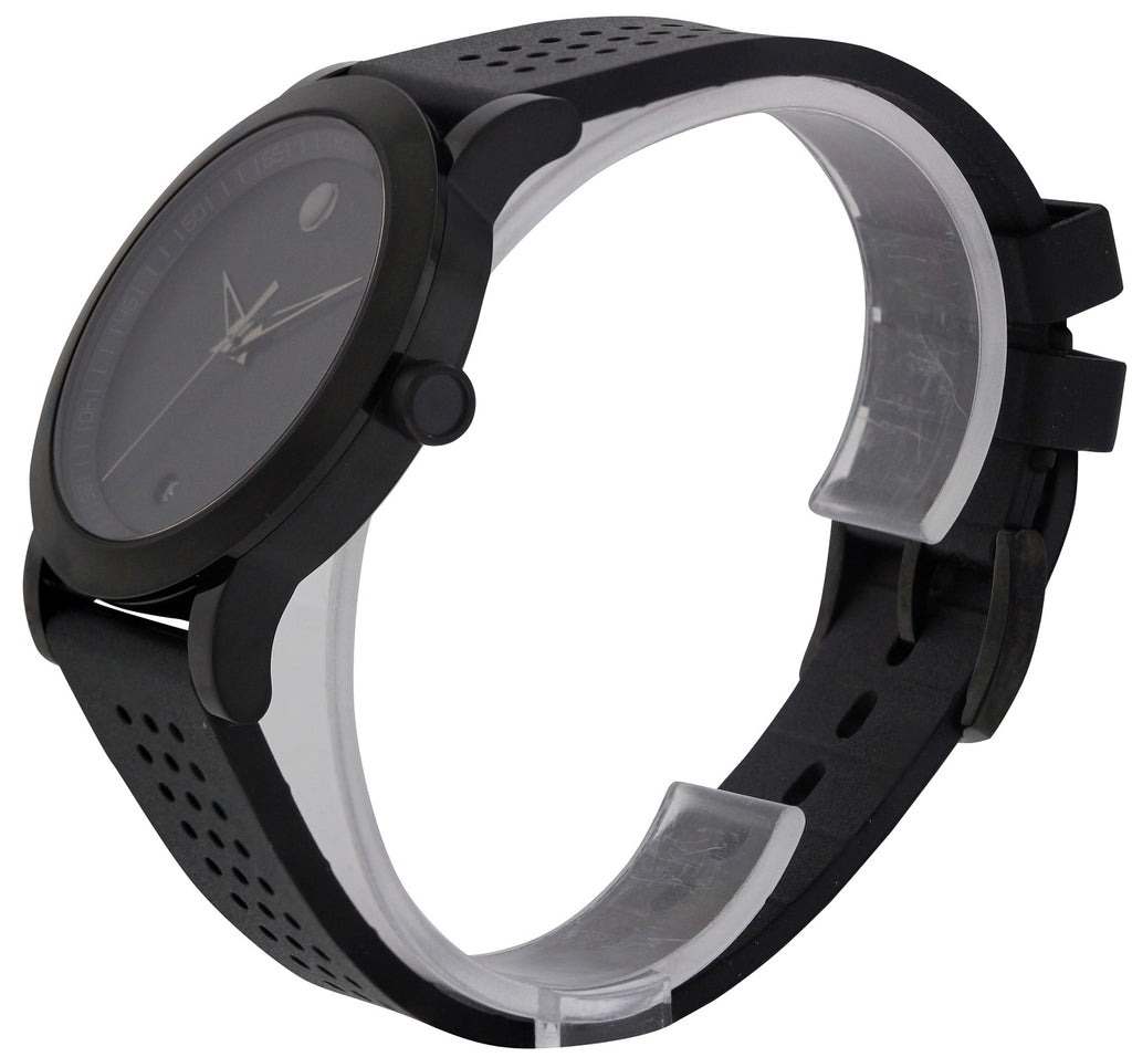 Movado Museum Sport Black Rubber Mens Watch