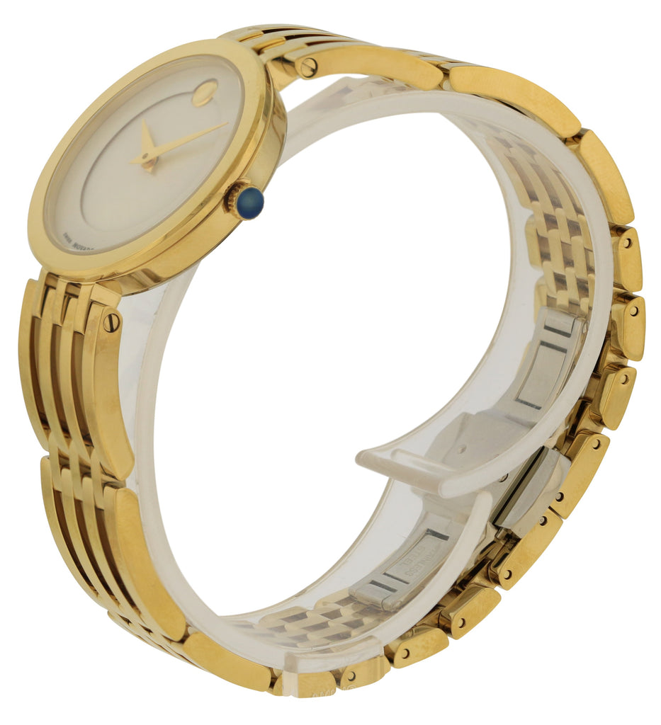 Movado Esperanza Gold-Tone Stainless Steel Ladies Watch