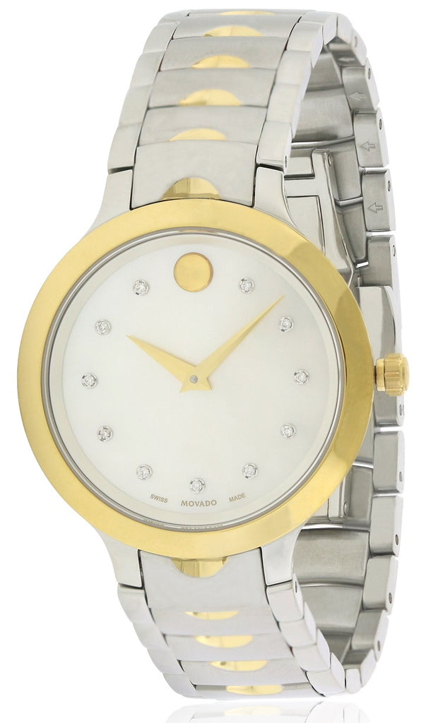 Movado Luno Stainless Steel Ladies Watch