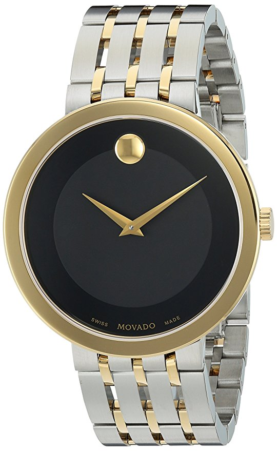 Movado Esperanza Two-Tone Stainless Steel Mens Watch