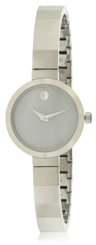 Movado Novella Stainless Steel Ladies Watch