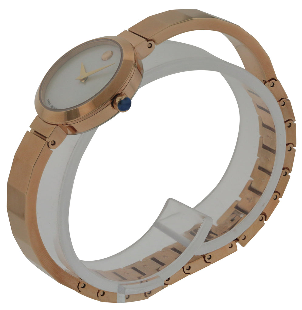 Movado Novella Rose Gold-Tone Ladies Watch