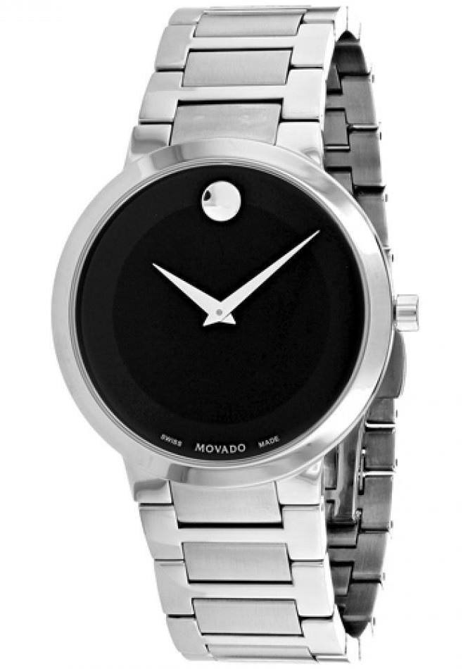 Movado Modern Classic Stainless Steel Mens Watch