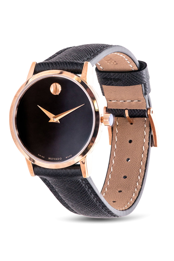 Movado Museum Leather Ladies Watch