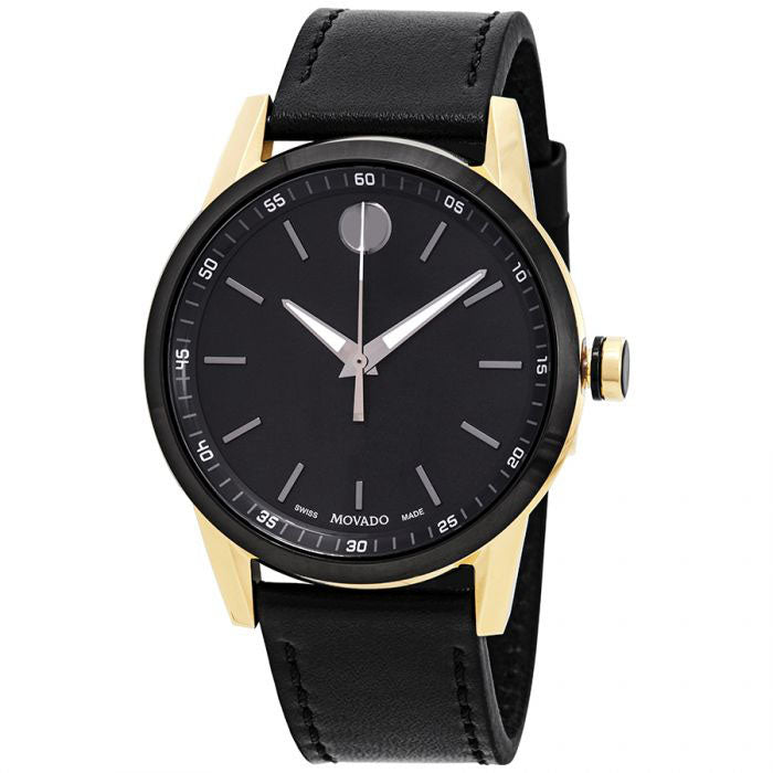 Movado Museum Sport Leather Mens Watch