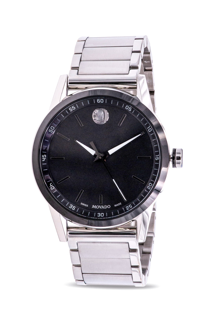 Movado Museum Sport Stainless Steel Mens Watch