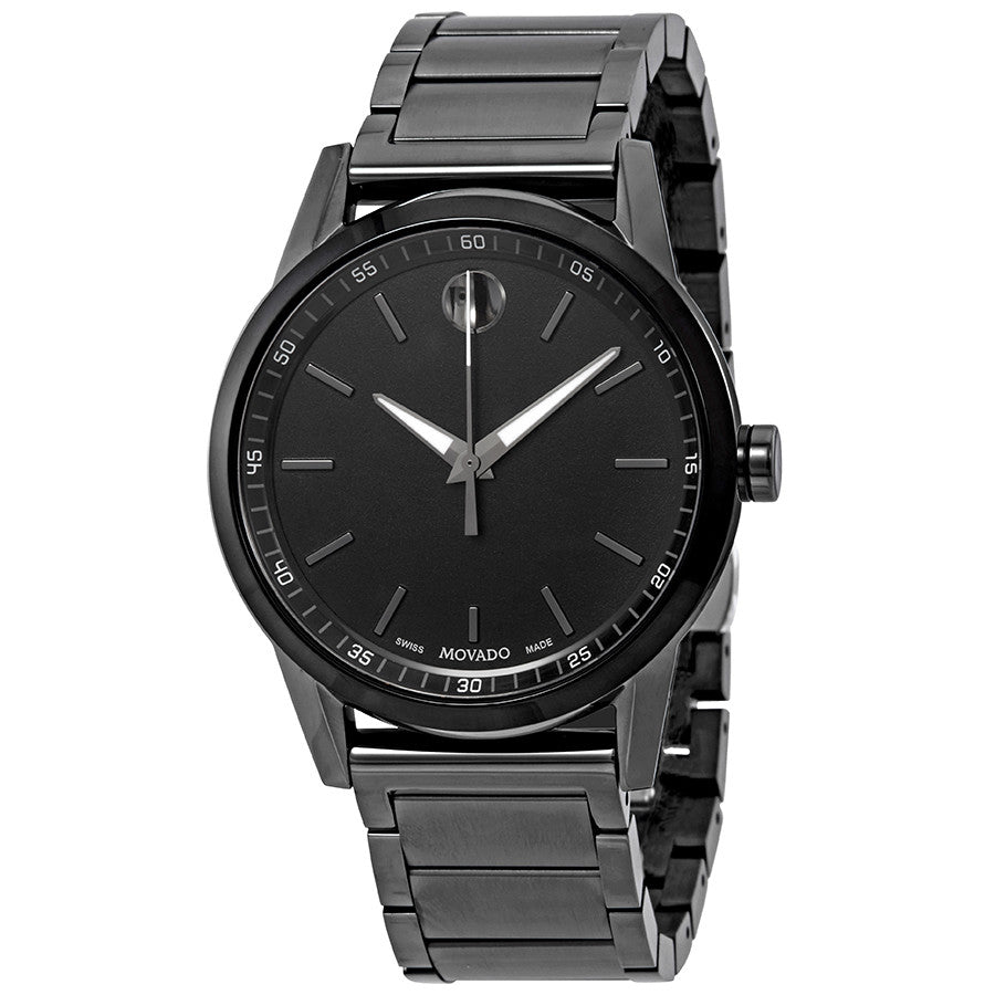 Movado Museum Sport Black PVD Mens Watch