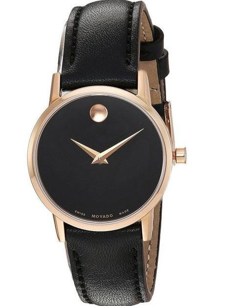 Movado Museum Classic Leather Mens Watch
