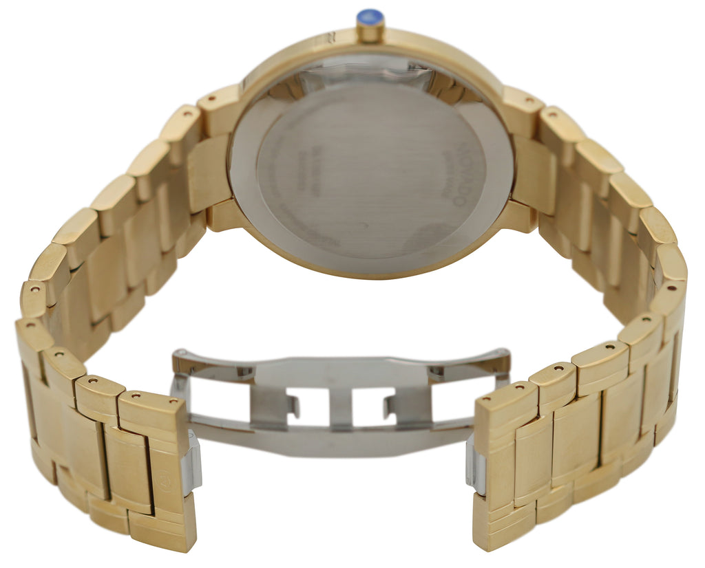 Movado Stiri Gold-Tone Mens Watch