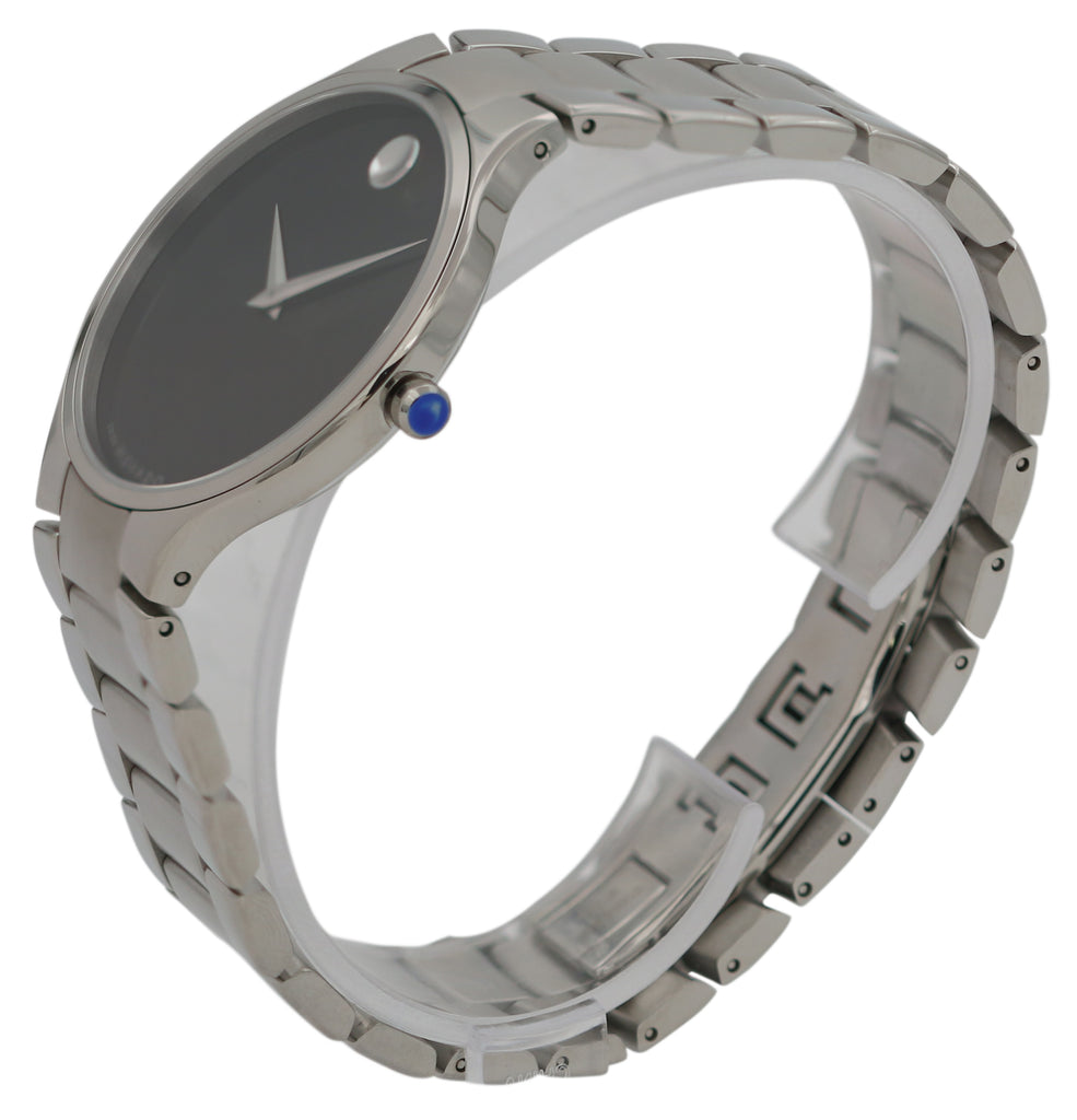 Movado Serio Stainless Steel Mens Watch