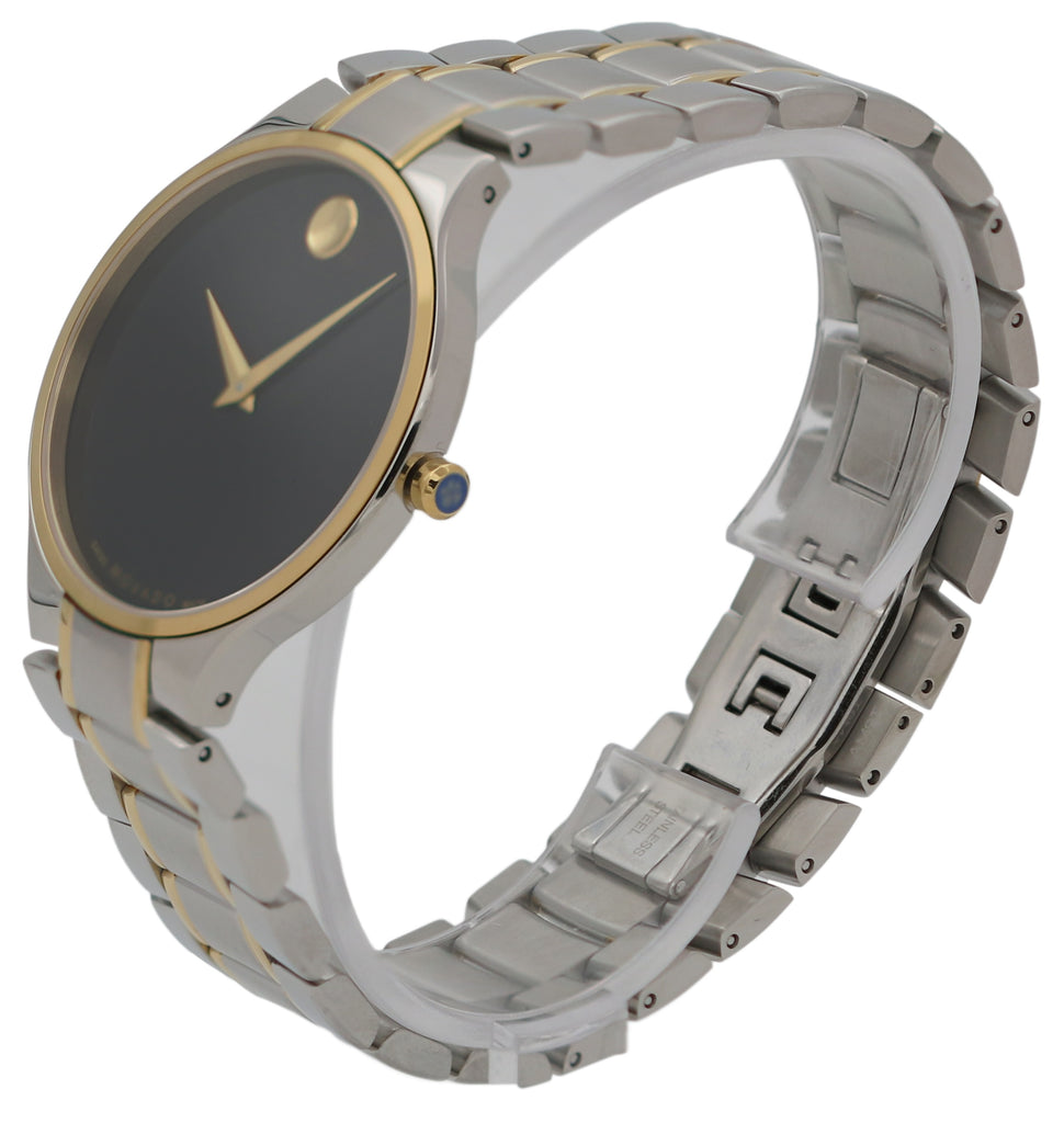 Movado Serio Two-Tone Mens Watch