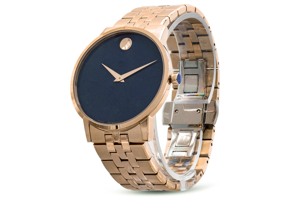 Movado Musuem Classic Gold-Tone Mens Watch
