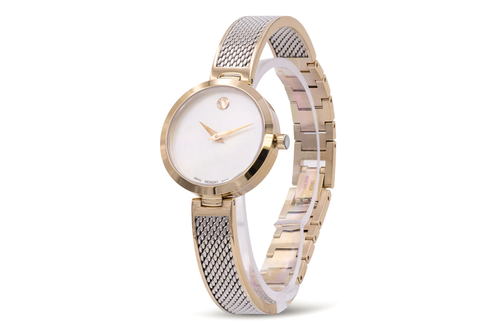 Movado Amika Mesh Bangle Ladies Watch