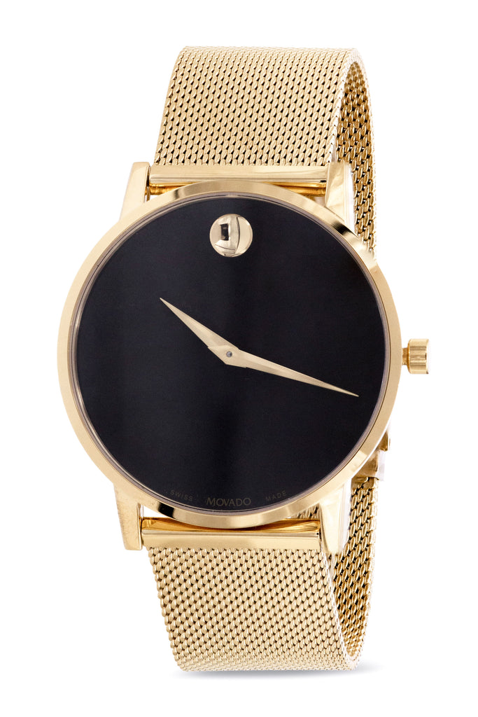 Movado Museum Gold-Tone Mens Watch