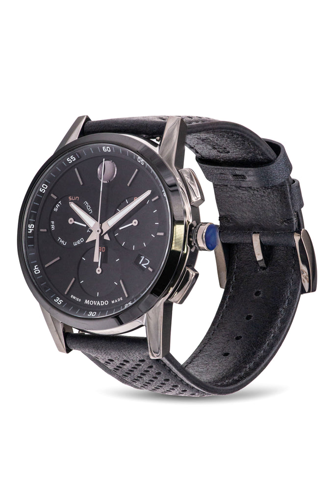Movado Museum Sport Rubber Chronograph Mens Watch