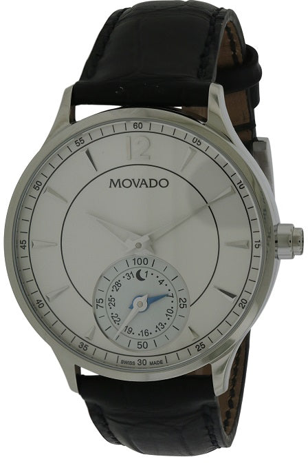 Movado Circa Motion Leather Smartwatch  Mens Watch