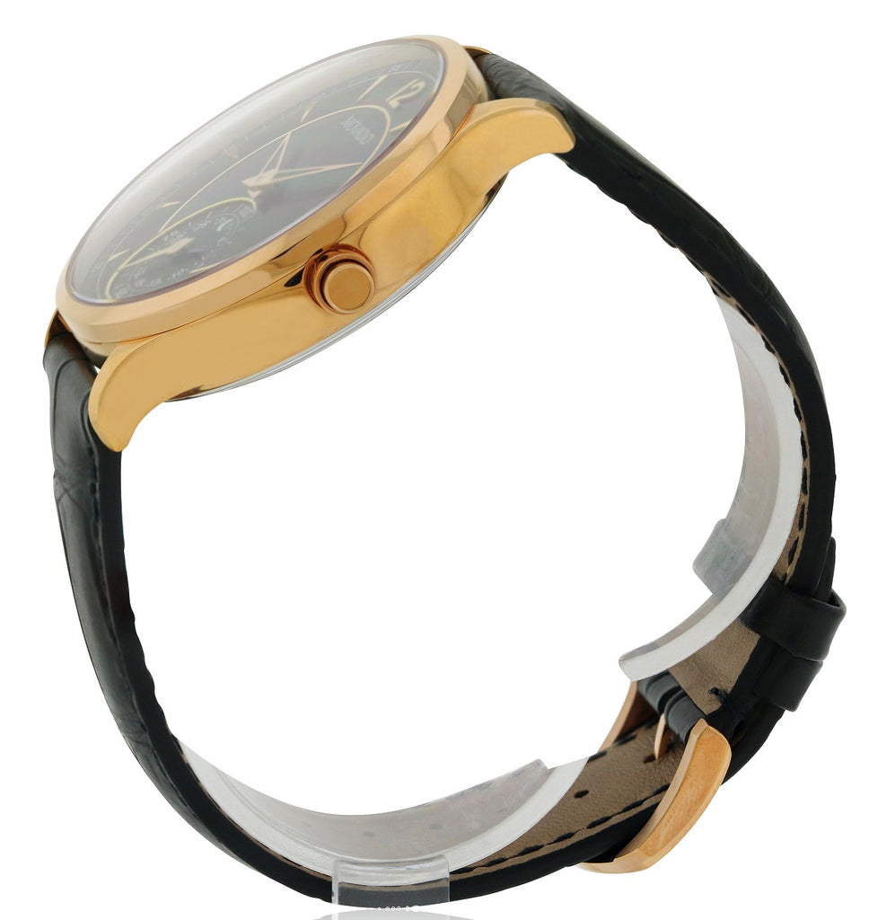 Movado Circa Motion Leather Smart Watch  Mens Watch