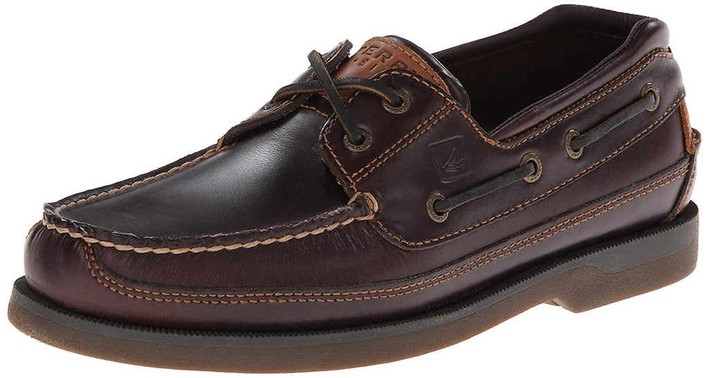 Sperry Mens Mako Canoe Moc Boat Shoe -  Amaretto