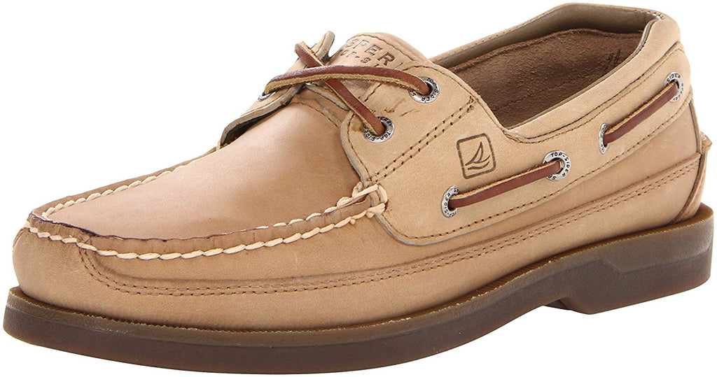 Sperry Mens Mako Canoe Moc Boat Shoe - Oak - Size 10.5